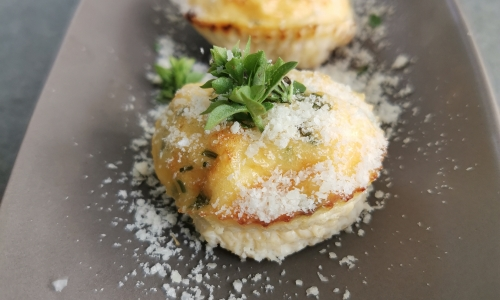 vaječný muffin
